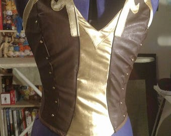 Custom Pyrrah Corset - RWBY - Made to Order