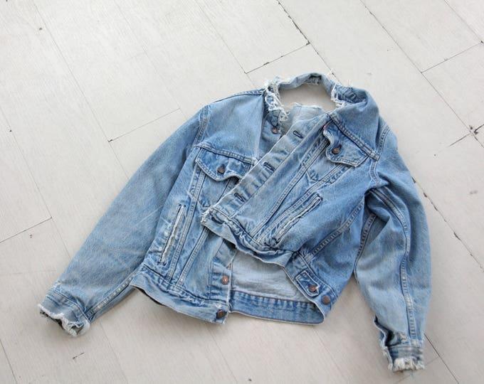 LEVI'S Jean Jacket size M