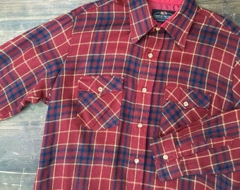 Fruit Of The Loom Flannel Shirt