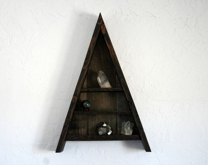 Triangle Curiosity Cabinet - Large