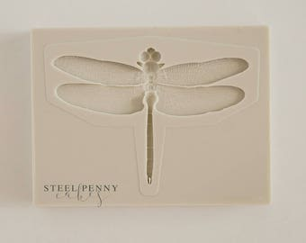 Dragonfly Silicone Mold for fondant and gumpaste cake decorating
