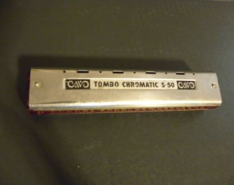 Tombo Chromatic S-50 Harmonica