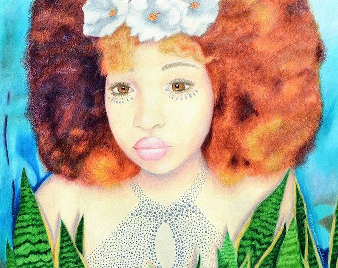 Gemma • Original Colored Pencil Drawing