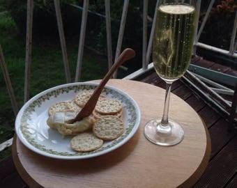 Soft cheese knife, Jam spreader, dip server, handmade in Victorian Ash