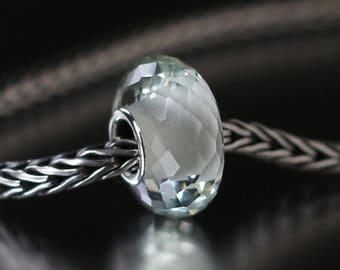 Green amethyst faceted semi-precious gemstone 12-55