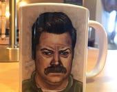 Ron Swanson Mug - Parks & Recreation