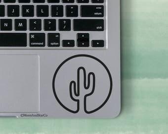 Cactus Circle                  , Laptop Stickers, Laptop Decal, Macbook Decal, Car Decal, Vinyl Decal
