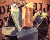Handmade cold process soap - soap sampler pack - mini soap sampler - vegan soap set - Set of 5 soap samples - 5 oz.