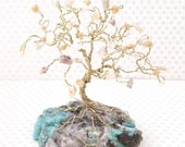 Spiritual Gifts, Healing Gifts, Moonstone Gem Trees, Gemstone Tree, Tree of Life, Just Because Gifts, Cute Desk Decor, Spiritual Gift