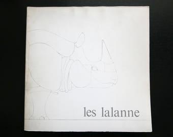 "Book "" LES LALANNE "" Paris, 1975 / Claude and Francois Xavier Lalanne, art, artist, france, french, sculpture, decoration, animal, zoo"