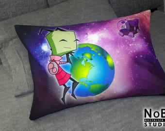Invader ZIM - Starry Invasion, both versions - pillow cases in standard full sizes