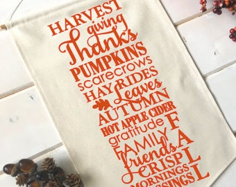 Fall Typography Fall Banner; Fall Home Decor; Fall Sign; Fall Decoration; Autumn Decor; Thanksgiving; Hayrides; Pumpkin; Fall Leaves