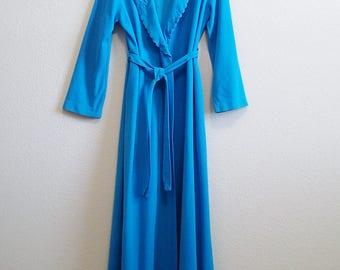 Soft Blue Robe Small Shadowline - lightweight & cozy