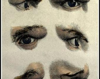 Art Print Human Eye by Jombert, Pierre-Charles 1771
