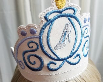 Cinderella Personalized Crowns, Cindy Crown, Prince Charming Crown, Personalized Kids Tiaras, Dress up Crowns, Kids Crowns for Play