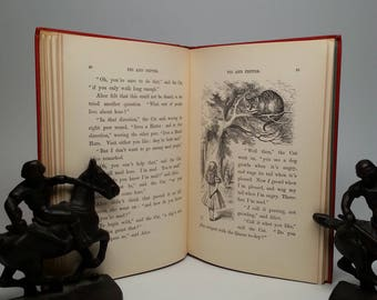 Alice's Adventures in Wonderland by Lewis Carroll First Edition Facsimile Hardcover Book