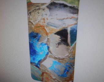 Cell Phone Case - iPhone & Samsung - 15 Models Available Colorful Blue  Gold - Elegant Gift