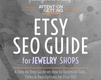 SEO Help -- Etsy SEO Help / SEO Guide for Jewelry Shops