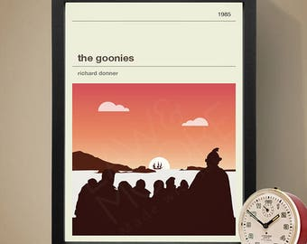 The Goonies Movie Poster, Movie Print, Film Poster