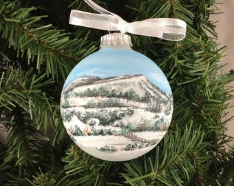 Custom Hand Painted Ornament