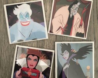 Villain Coasters