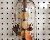 Bottle Wind Chime Copper Paws & Bassets