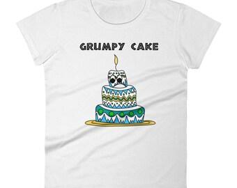 Grumpy Cake Women's T-Shirt