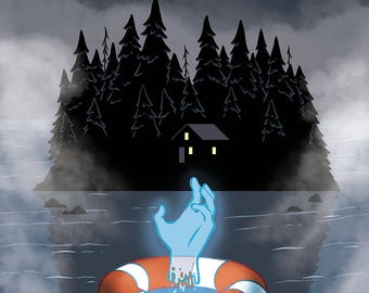 The Spirit of Vancouver Island Comic