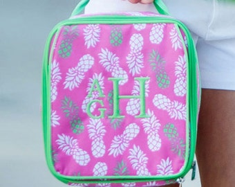 Personalized Pineapple Lunch Box