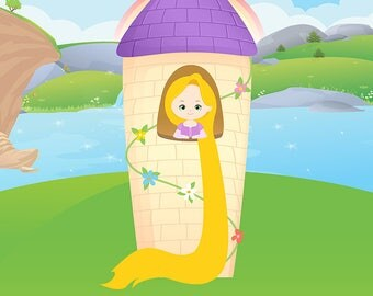 Tangled BACKGROUND; Tangled JPEG Birthday Party; Rapunzel Party; Tangled Party Decor; Party decor; Tangled; Tangled Birthday