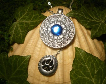 Talisman of the Wolves - fantastic handmade Amulet