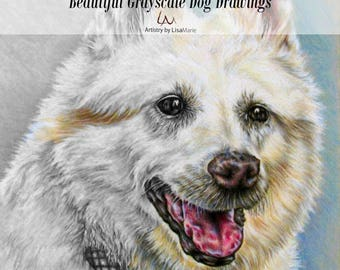 Coloring Book For Adults Pages Adult Dog Lover
