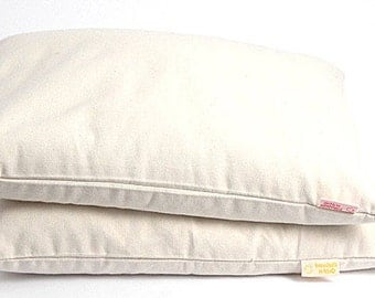 Buckwheat pillow Sleep pillow 16''x20''/40x50cm Milk White buckwheat pillow Ortopedic buckwheat pillow Pillow for neck Buckwheat neck pillow