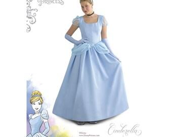 8491, Simplicity, Disney, Cinderella,  Cosplay, Dress Up, Disney Princess, Disney Gown, Misses Costumes, Women's Cinderella Costume