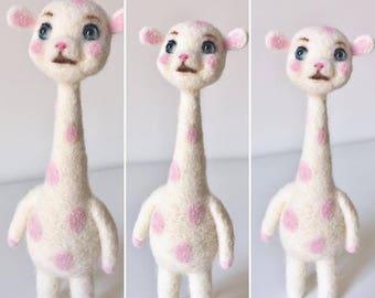 Whipped Cream Giraffe