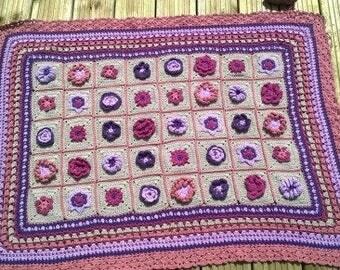 Lightweight cotton blanket
