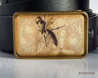 Mechanical Flying Insect Belt Buckle Steampunk Accessory Boyfriend Gift Fathers Day Gift Birthday Gift Steampunk Buckle