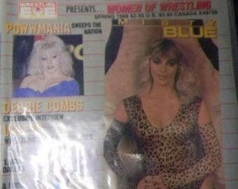 W.O.W. Women Of Wrestling Magazine Premiere Issue