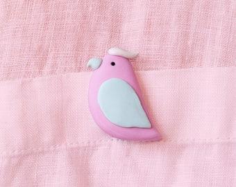 Galah pin / brooch