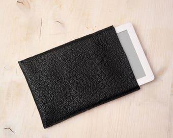Leather iPad sleeve leather iPad cover