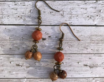Beaded Boho Style Earrings