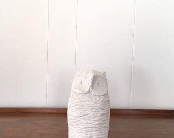 Vintage Bitossi Pottery Owl Figurine