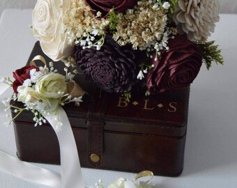 Fall burgundy Bouquet* colors can be changed!*