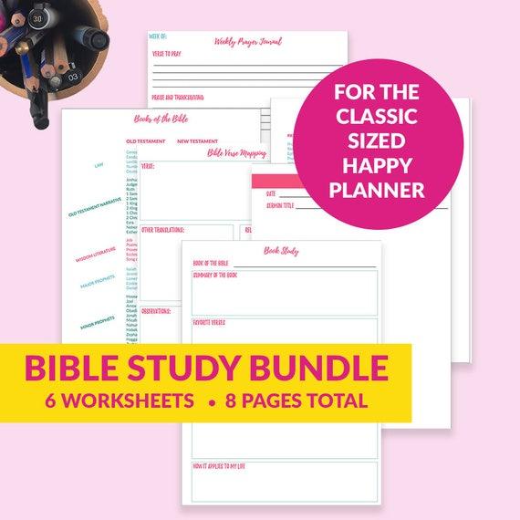 Free Bible Journal Key Worksheet – Bible Journal Love