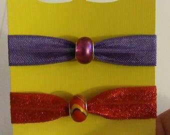 Beaded Hair Ties