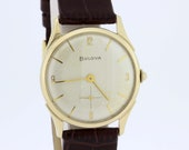 10K Goldfilled Bulova Wrist Watch