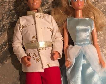 Cinderella And Prince Charming Dolls