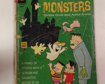 Gold Key Comics The Little Monsters # 11 Augusst 1967 Vintage Comic Book