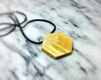 Cubic chunky pendant