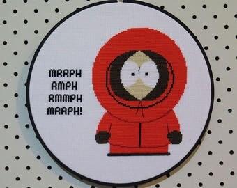South Park Kenny Cross Stitch Pattern